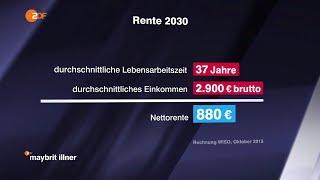 Die Methusalem-Rente 28.04.2016 – Sahra Wagenknecht bei Maybrit Illner – Bananenrepublik