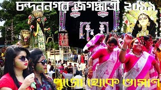 Goddess Jagadhatri 2019  ll Puja + Procession + Immersion at Chandannagar
