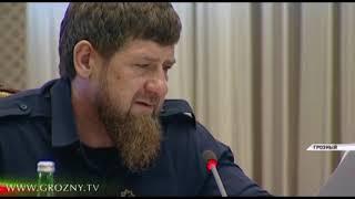 В правительстве Чечни обсудили проблему объектов незавершенного строительства