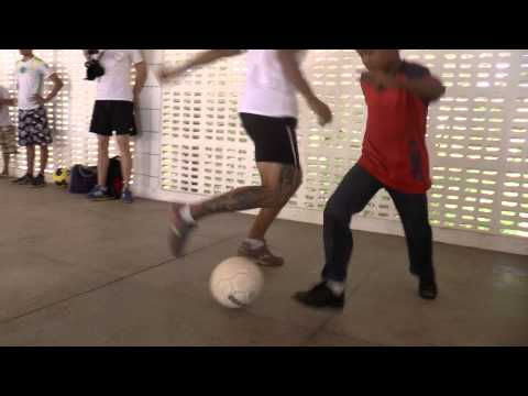 Football clinic at public school Natal