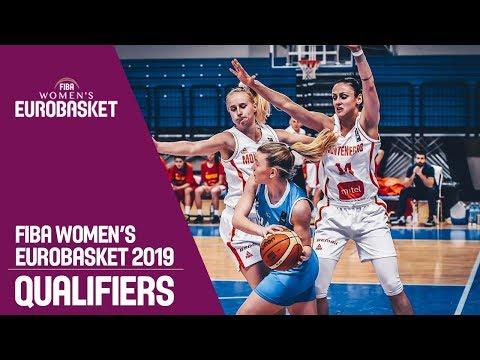 Montenegro v Iceland - FIBA Women's EuroBasket 2019 Qualifiers