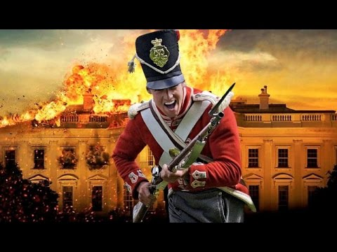 Burning of Washington by the British redcoats - 1814