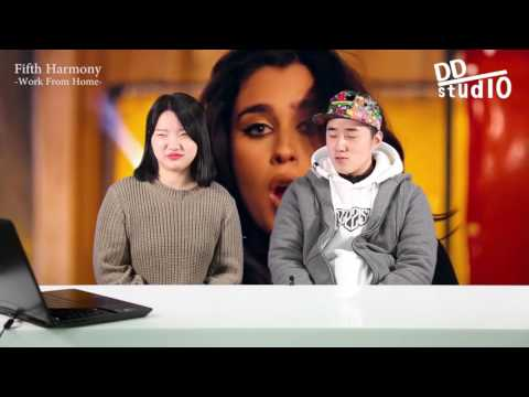 Koreans React to Fifth Harmony song- worth it, work from home[ENG SUB]