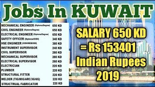 Jobs In KUWAIT || Store Keeper || Rigger ||  Electrician || Safety Officer || Gulf Job Requirements