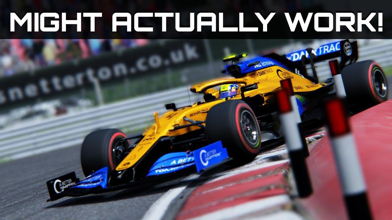 Video: British Grand Prix at Snetterton anyone?