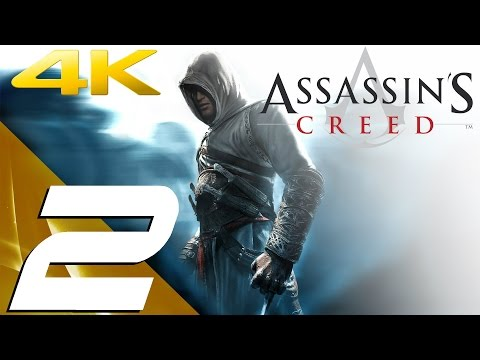 Assassin's Creed - Walkthrough Part 2 - Traitor & Damascus [4K 60FPS]