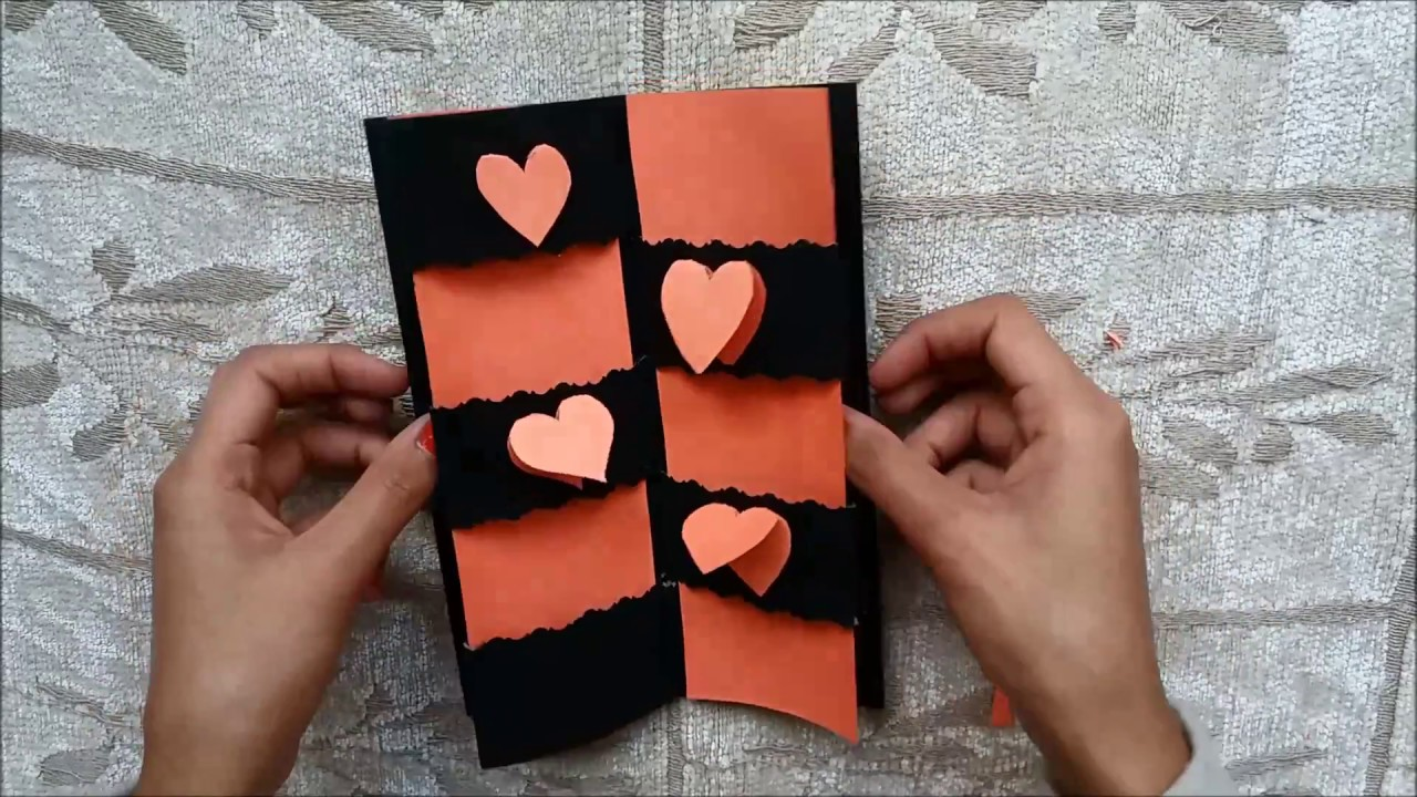 Secret Message Card Tutorial Valentines Day Cards Valentine