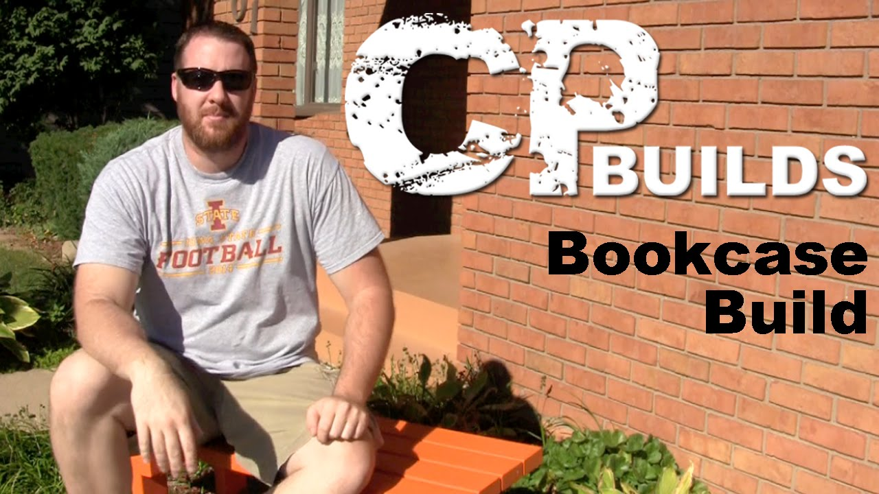 Build A Bookcase Out Of Plywood - YouTube