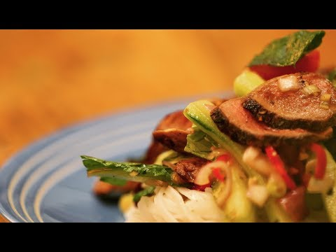 Thai Venison Noodle Salad Recipe from Max Lahiff
