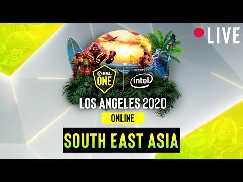 LIVE: Fnatic Vs Team Adroit - ESL One Los Angeles - Playoff Grand Final - SEA