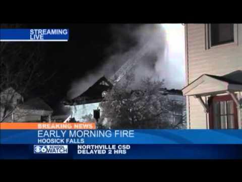 House fire in Hoosick Falls