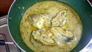 How to & Best Cooking Recipes for DOI ILISH in Hindi  দই ইলিশ  Yogurt Hilsha Fish Curry Bangla Recip