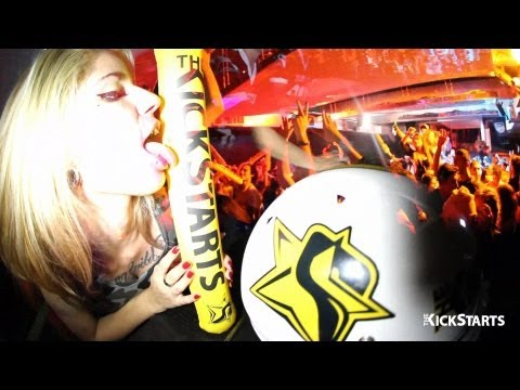 The Kickstarts @ Dirty Kidz Party 08/2013 Aftermovie