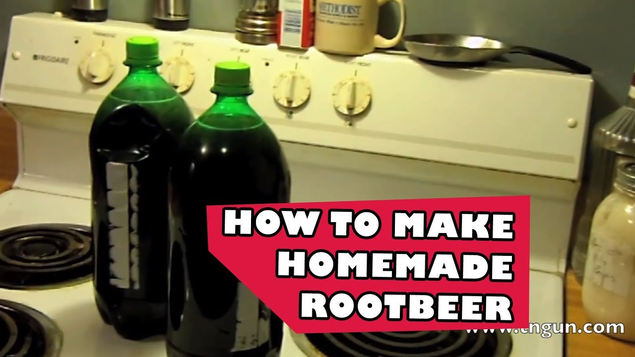 how to make homemade root beer from scratch