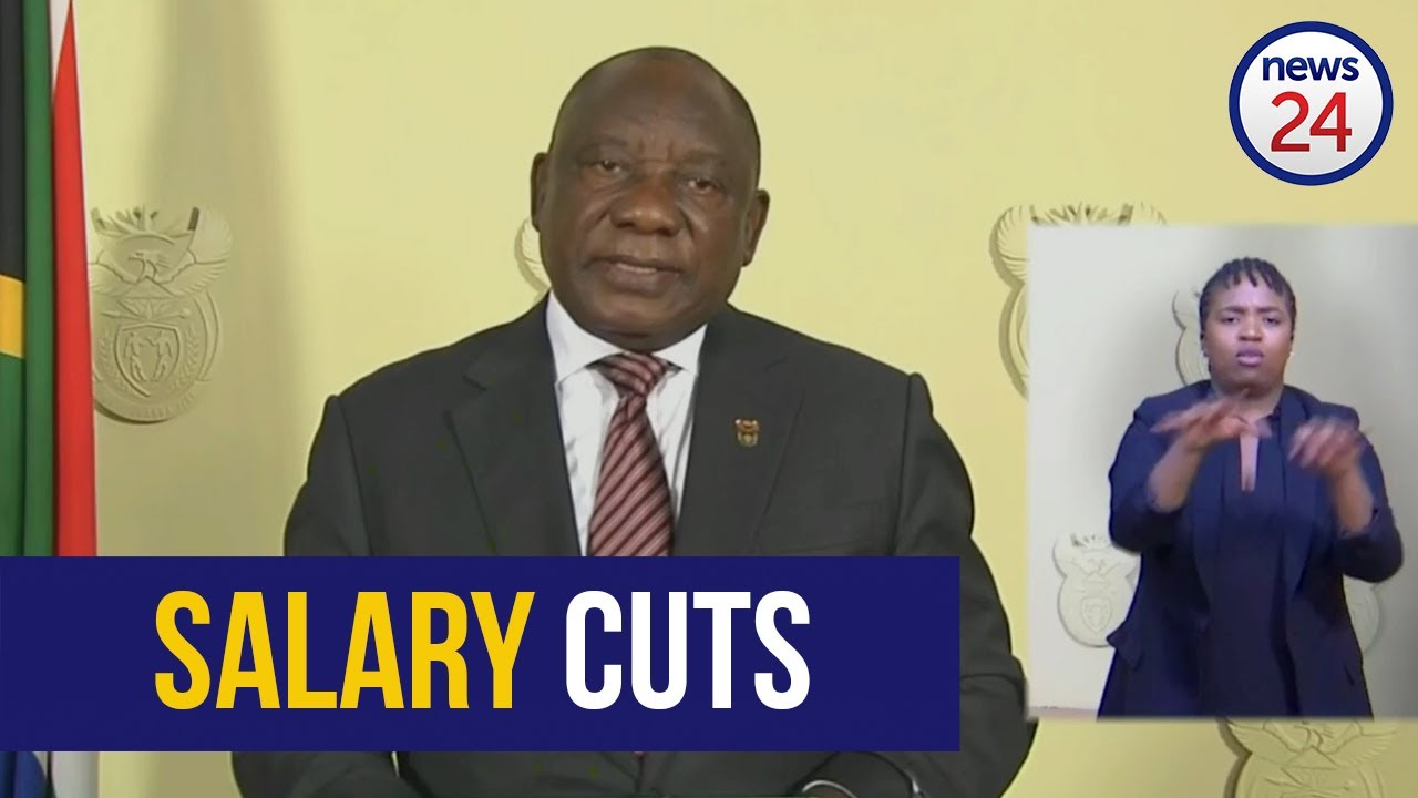 WATCH | President announces salary cuts for ministers as lockdown gets extended - News24