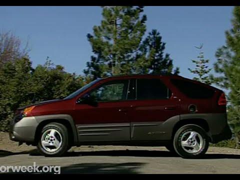 MotorWeek | Retro Review: '01 Pontiac Aztek