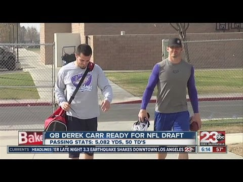 David, Derek Carr anticipating Draft Day