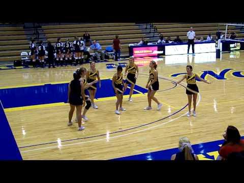 Wayland Baptist Cheerleaders