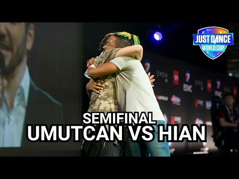 JUST DANCE WORLD CUP 2017 - SEMIFINAL (YARI FİNAL) - UMUTCAN VS HIAN