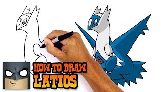 How to Draw Latios | Pokemon
