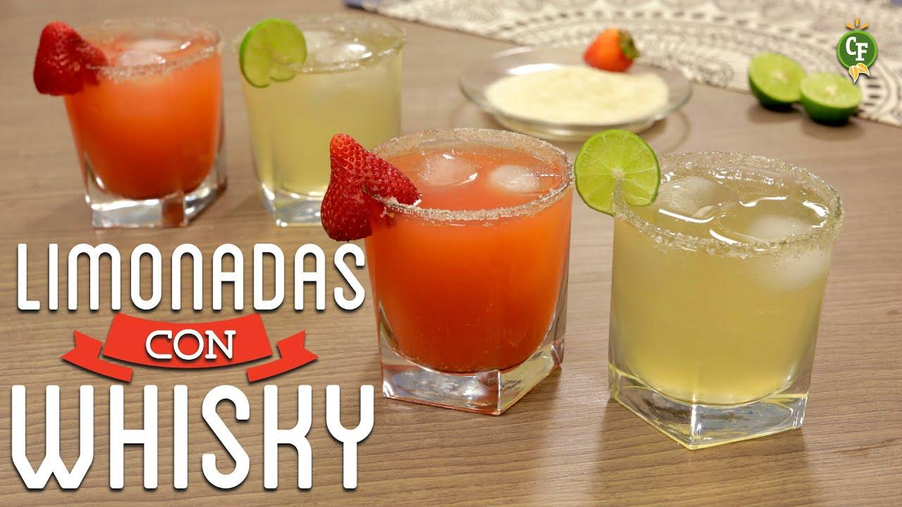 C mo preparar limonadas con whisky cocina fresca youtube for Como cocinar un bogavante