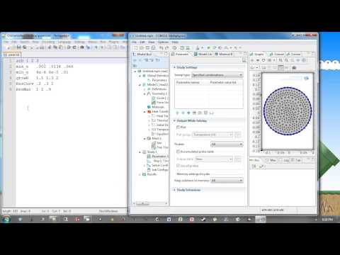 How to do a mesh convergence with COMSOL's built in settings