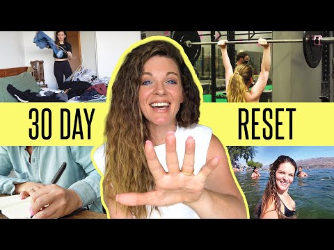 My 30 Day RESET ROUTINE for more focus + A BIG LIFE UPDATE!!