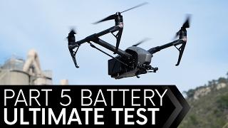 DJI Inspire 2 Battery Test Episode 5 OUTDOORS
