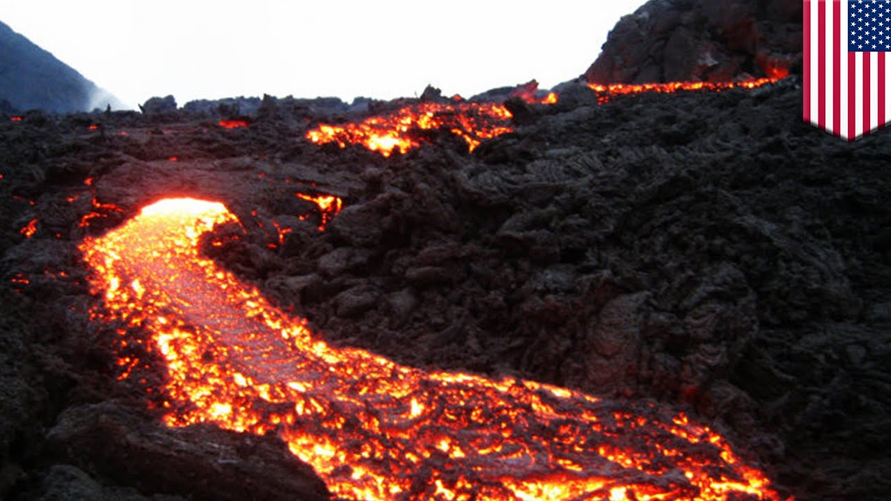 Volcano Rising Hot Rock Rising Under New England Could