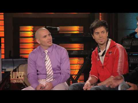 Twitter Q and A w/ Enrique Iglesias and Pitbull