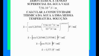 The thermal conductivity of the water.New law of physical chemistry!