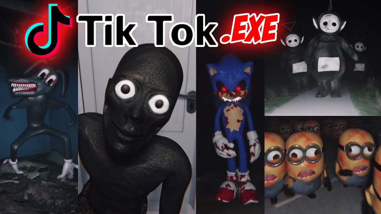 SCARY TIKTOK.EXE   REACTING TO HORROR VIDEOS THAT WILL GIVE YOU NIGHTMARES   DO NOT WATCH ALONE!!
