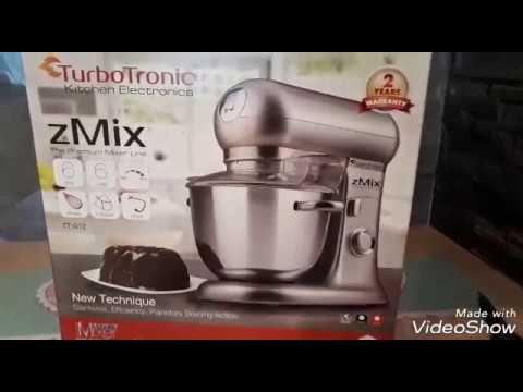 TurboTronic zMix Küchenmaschine im Test - YouTube
