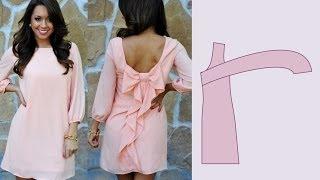 Как сделать бант на платье