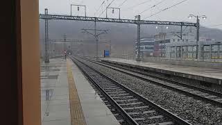 【2018/3/18】KR牙山駅ヌリロ号入線