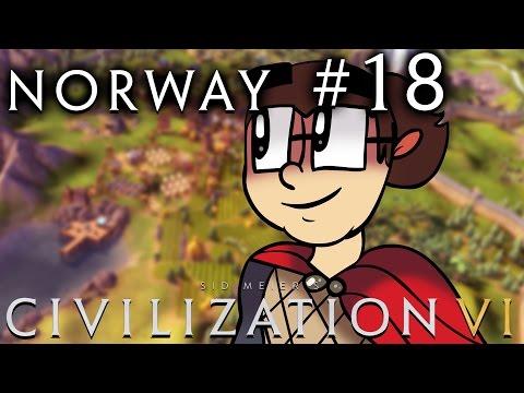 Civilization VI [Six!!] - Norway: Religious Vikings! - Part 18