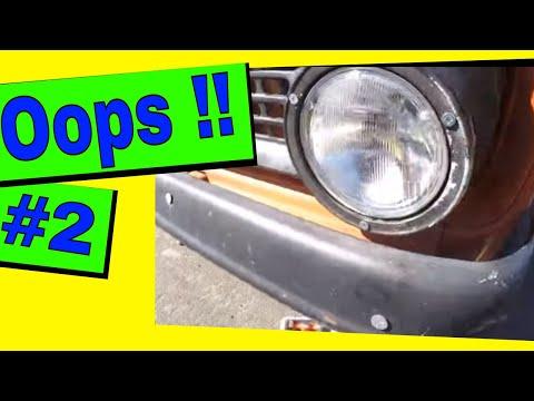 Straightening Bent Metal: oops!!! #2