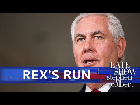 Rex In Review: Colbert\'s Top Takes On Secretary Tillerson