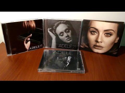 Unboxing: Adele - discográfia (2008 - 2015)