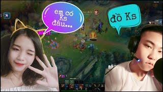 [TROLL GAME] LOL- Hót Chơi Game Cùng Ngân Xinh Đẹp Giọng ...