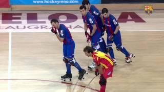 [highlights] hoquei patins (ok liga): fc barcelona lassa – manlleu (4-0)