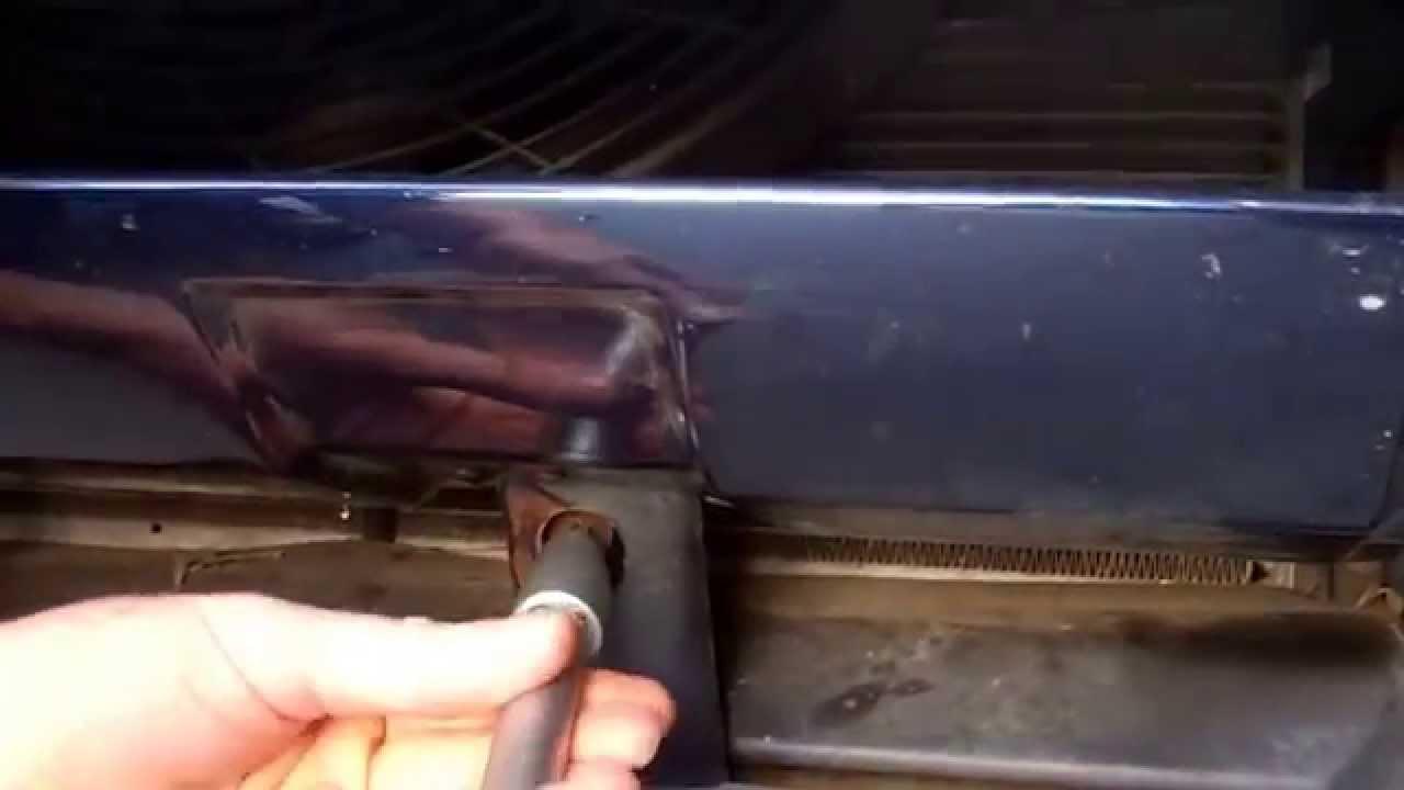 range rover p38 rear bumper removal