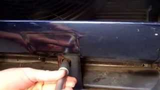 How to remove the front bumper from a Range Rover L322