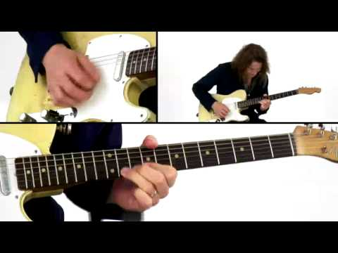 Robben Ford Guitar Lesson 18 Blues Motif Revolution