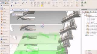 САПФИР 2014: Моделирование лестниц