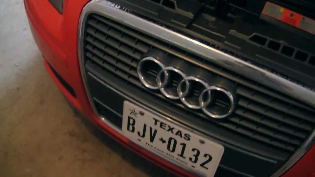 Plasti Dip Grill And Emblems 2006 Audi A3 Twistedchild420