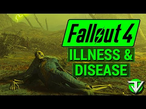 FALLOUT 4: New ILLNESS & DISEASE In Survival Mode Beta! (Avoiding The Commonwealth Clap)