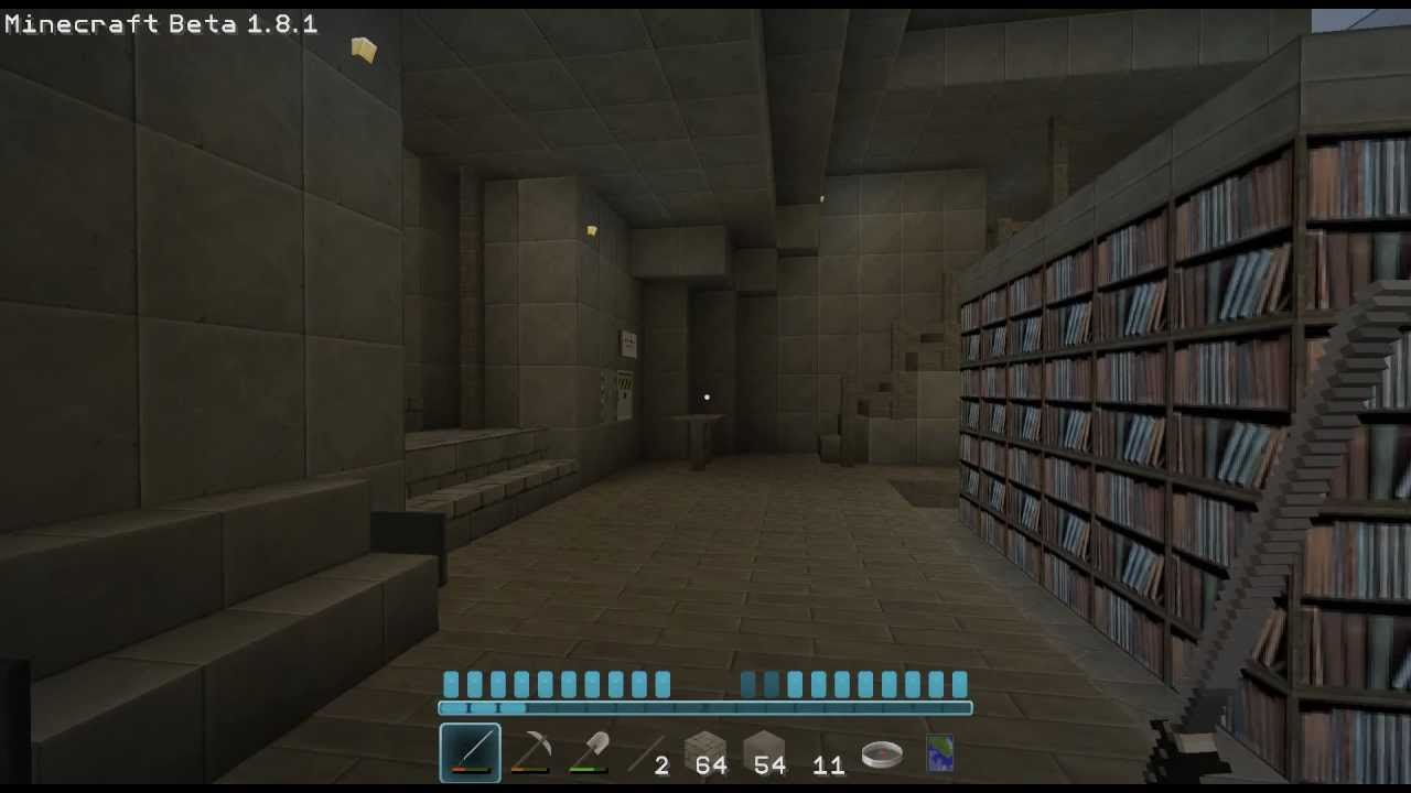 How To Make A Hidden Room With Sticky Pistons