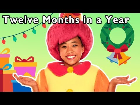 Twelve Months in a Year and More | LEARN MONTHS OF THE YEAR | Baby Songs from Mother Goose Club!