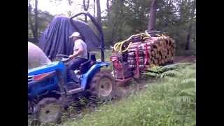 Repeat youtube video remorque forestiere micro tracteur